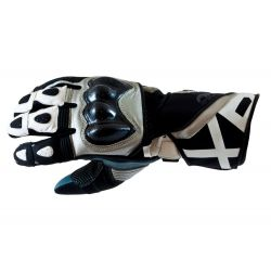 Armr XP-1 Motorcycle Glove Grey White Black