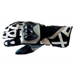 Armr XP-1 Motorcycle Glove Grey White Black
