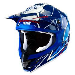 Scorpion VX15 Air Oil Blue/White