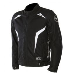 Keers Jacket Black/White