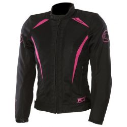 Lady Keers Jacket Black/Mauve