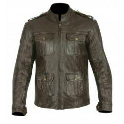 Frank Thomas FTL311 Richmond Leather Jacket Black