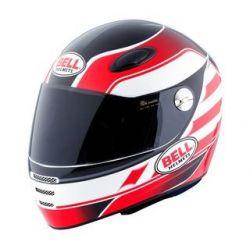 BELL M1 Street ST2 st2 white/red helmet