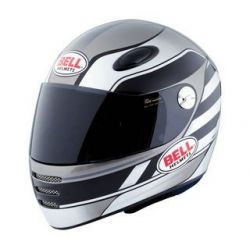 BELL M1 Street STS Black/Silver Helmet
