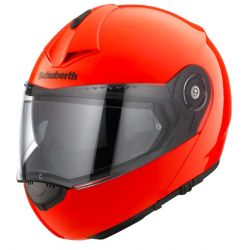 Schuberth C3 Pro fluo Orange Flip Front Motorcycle Helmet