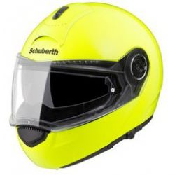 Schuberth C3 Pro fluo Yellow Flip Front Motorcycle Helmet