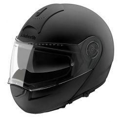 Schuberth C3 Pro Women Matt Black Flip Front Motorcycle Helmet