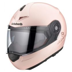 NEW!! Schuberth C3 Pro Women Pink Flip Front Motorcycle Helmet