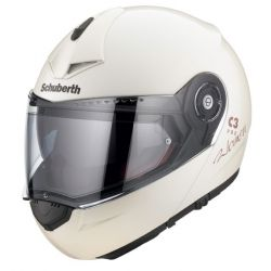NEW!! Schuberth C3 Pro Women White Flip Front Motorcycle Helmet