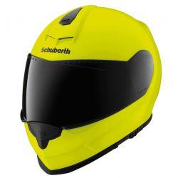 Schuberth Fluo Yellow S2 Flip Front Motorcycle Helmet