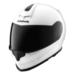 Schuberth S2 Gloss White Flip Front Motorcycle Helmet