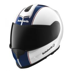 Schuberth Lines white/red/grn S2 Motorcycle Helmet