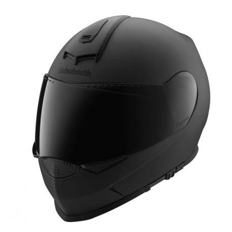 Schuberth Matt Black S2 Motorcycle Helmet