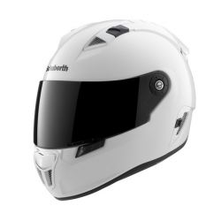 Schuberth SR1 Gloss White Motorcycle Helmet