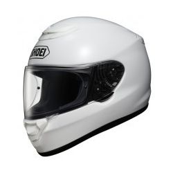 Shoei Qwest Plain White Motorcycle Helmet