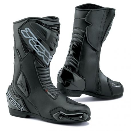 TCX S-SPORTOUR Waterproof Racing Line Motorcycle Boots Black