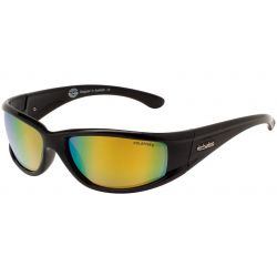 Dirty Dog Banger Sunglasses Black And Gold