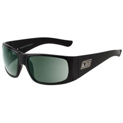 Dirty Dog Bone Sunglasses Black/Grey And Green