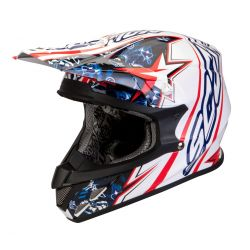 Scorpion EXO VX-20 Air White,Red,Blue