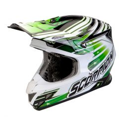 Scorpion EXO VX-20 Air Green And White