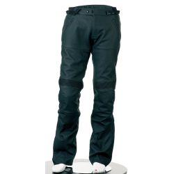 Bering Serum Black Leather Trousers