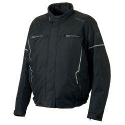 Karloff Black Textile Jacket