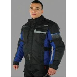 Sabre Jacket Black And Blue