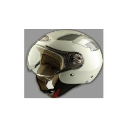 Viper RS-16 Open face Helmet White