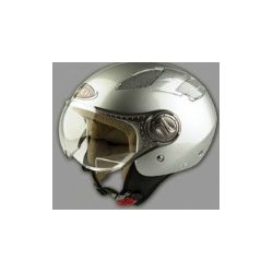 Viper RS-16 Open face Helmet Silver