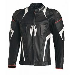 Richa Rebel Jacket Black White