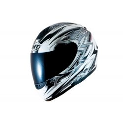 MT Kids Thunder Full Face Motorcycle Helmet White Grey