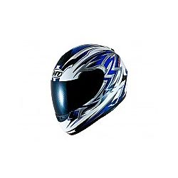 MT Kids Thunder Full Face Motorcycle Helmet White Blue