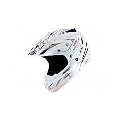 MT MX2 (Kids) Technical White/Grey Moto X Helmet