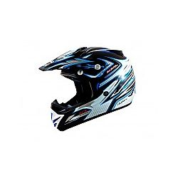 MT MX2 (Kids) Technical Black/Blue Moto X Helmet