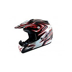 MT MX2 (Kids) Technical Black/Red Moto X Helmet
