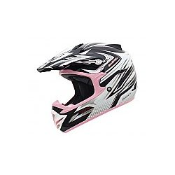 MT MX2 (Kids) Technical Black/Pink Moto X Helmet