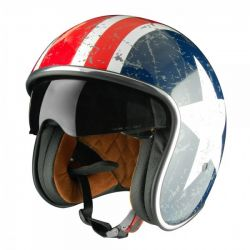 Origine Sprint Vintage Open Face Helmet Rebel Star