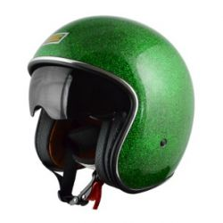 Origine Sprint Vintage Open Face Helmet Green