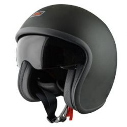 Origine Sprint Vintage Open Face Helmet Matt Black
