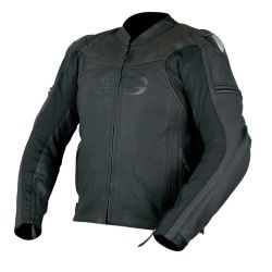 Armr Raiden Leather Jacket Black