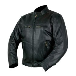 Armr Hiro Leather Jacket Black