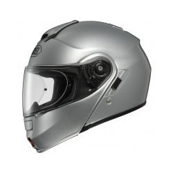 Shoei Neotec Plain Light Silver