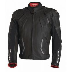 Richa Mugello Black Leather Jacket