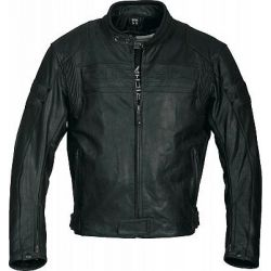 Richa Heritage Black Leather Jacket