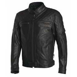 Richa Memphis Black Leather Jacket