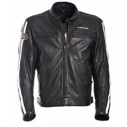 Richa Retro Racing Black Leather Jacket