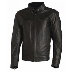 Richa Boston Black Leather Jacket