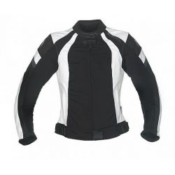 Richa Libra BLack/White Leather Jacket