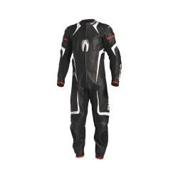 Richa Attack 1 Piece Leather Suit Black/White