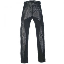 Richa Freedom Black Leather Trousers